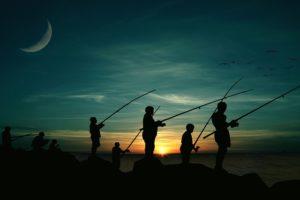 fiskeri med børn